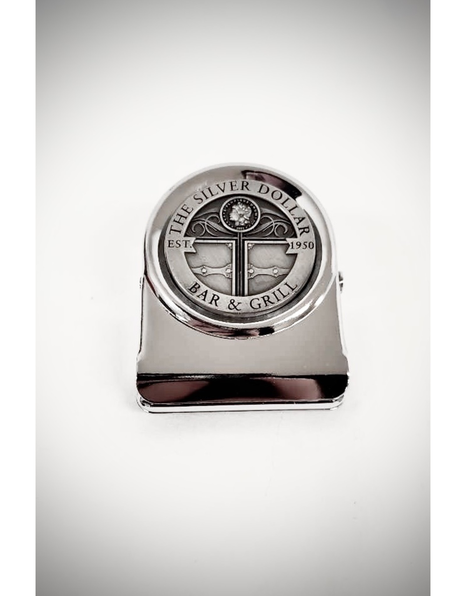 Silver Dollar Bar and Grill  Magnetic Clip