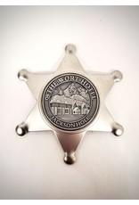 The Wort Hotel Tin Star Magnet