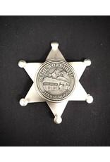The Wort Hotel Tin Star Badge