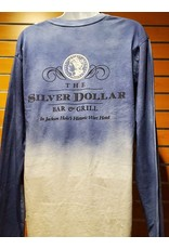 Silver Dollar Bar and Grill Ombre Long Sleeve Shirt