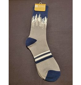 Locale Grey Treeline Socks