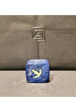 Blue Small Wire Photo Holder