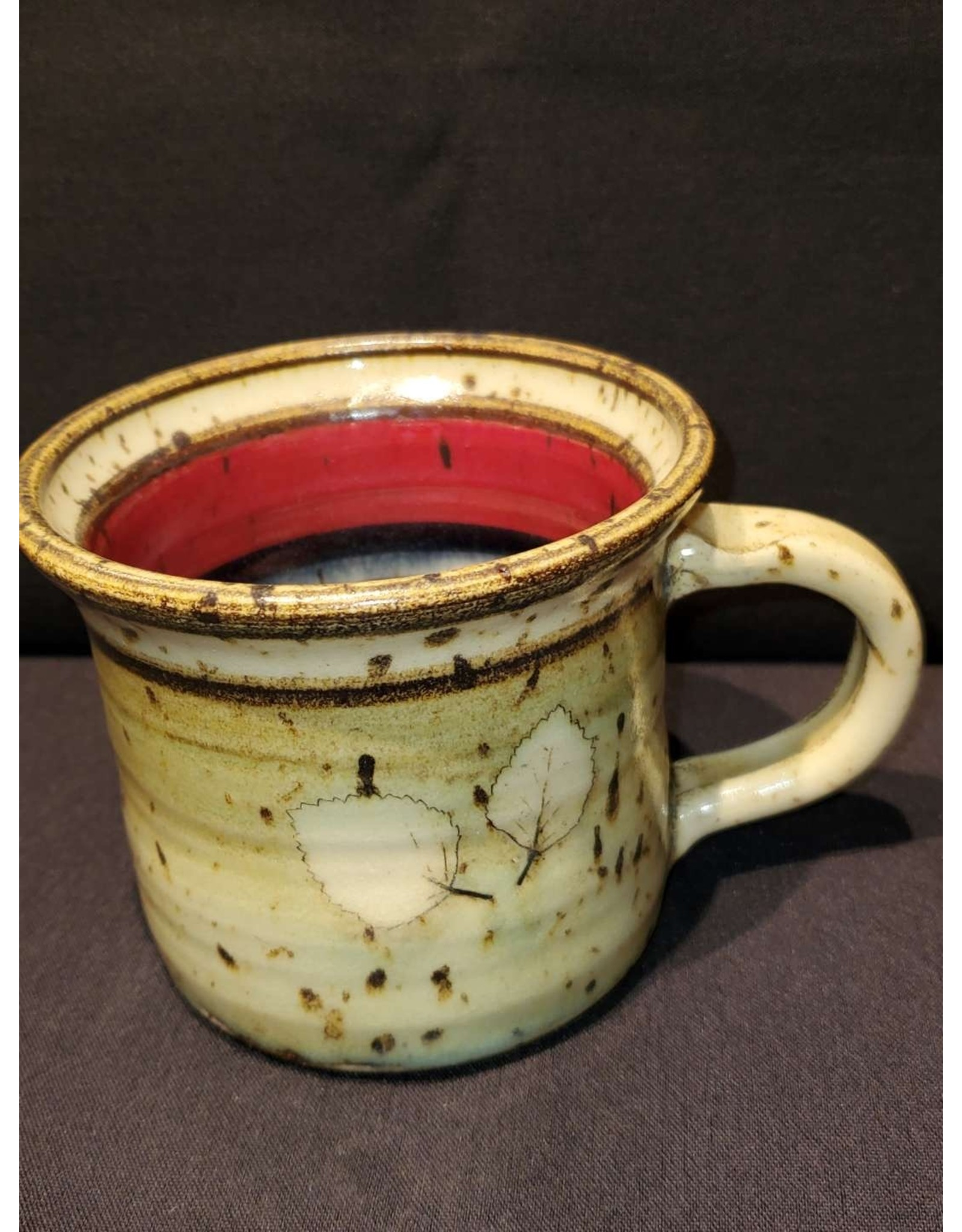 Mint Pottery Cup