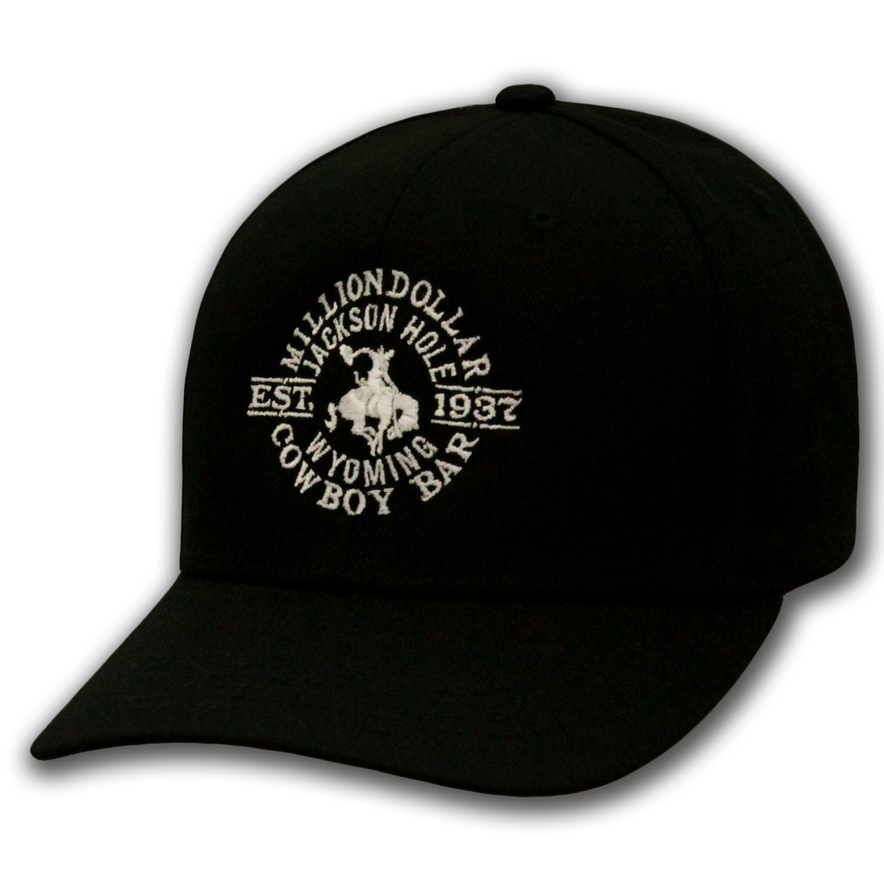 Solid Black Cap Snapback