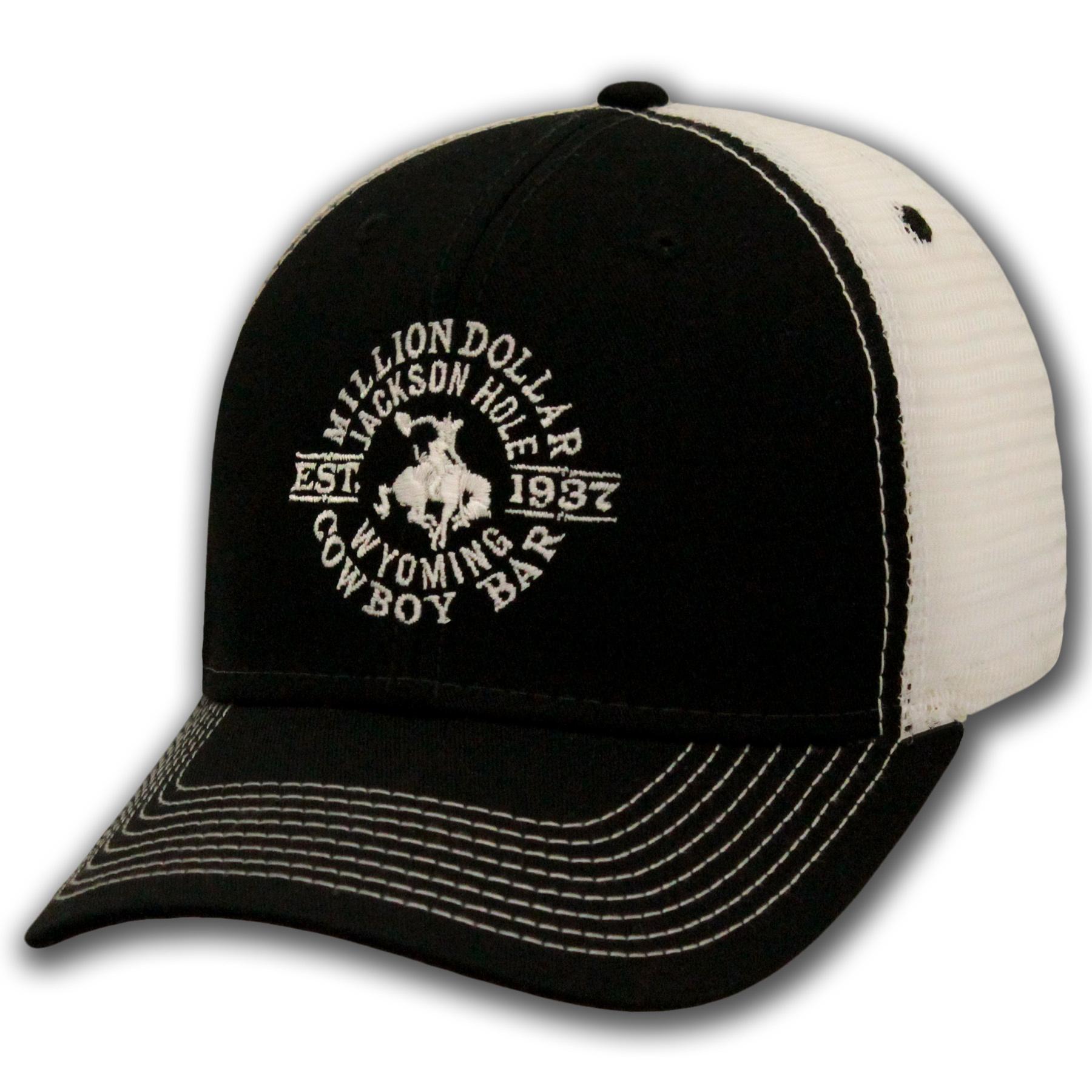 BL Black & White Mesh Cap Snapback