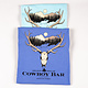 Flo Blue Elk Skull Shirt