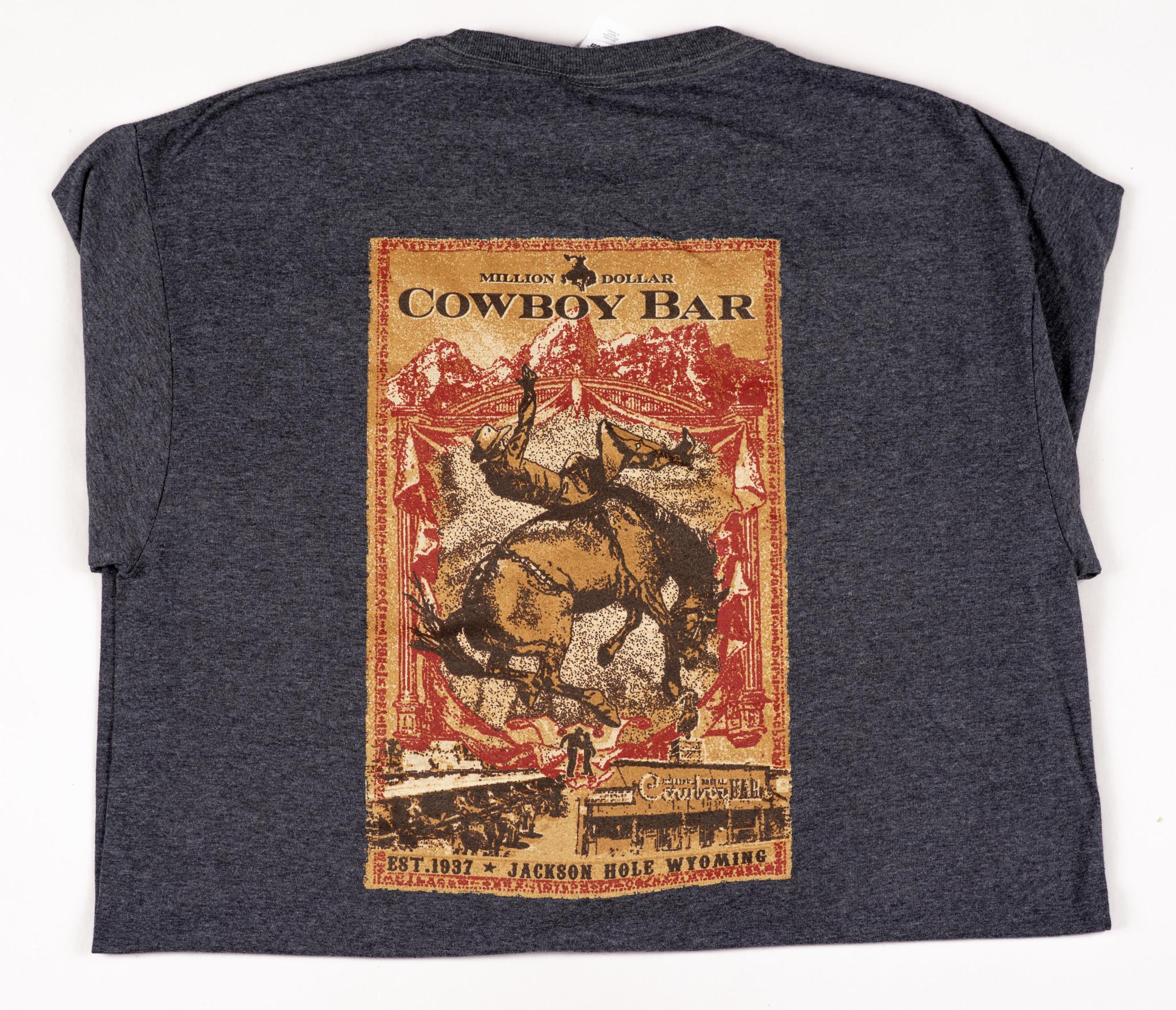 Heather Gray Rodeo Poster Coronado Shirt