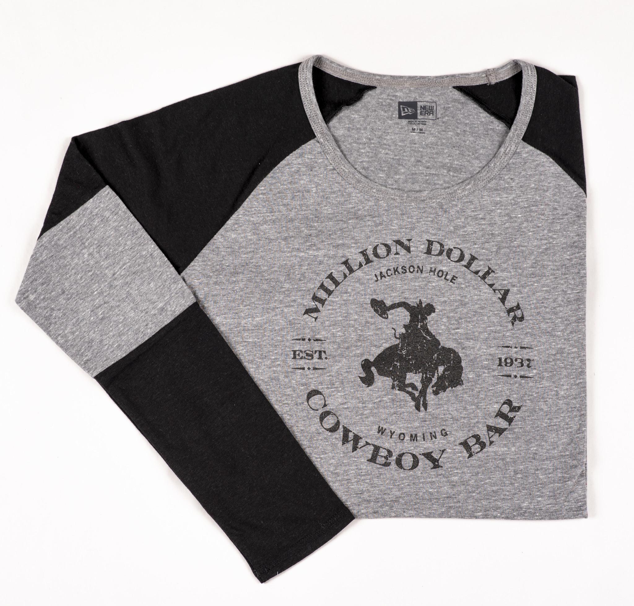 Black Shadow Gray Ladies Jersey