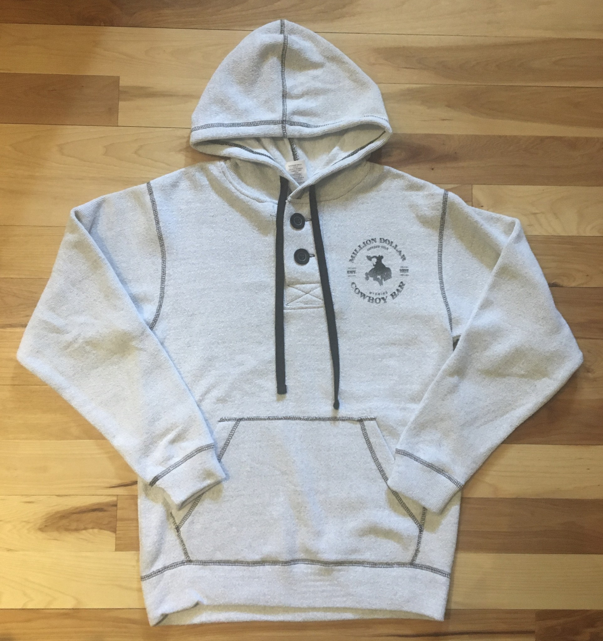 Two Button Hoody