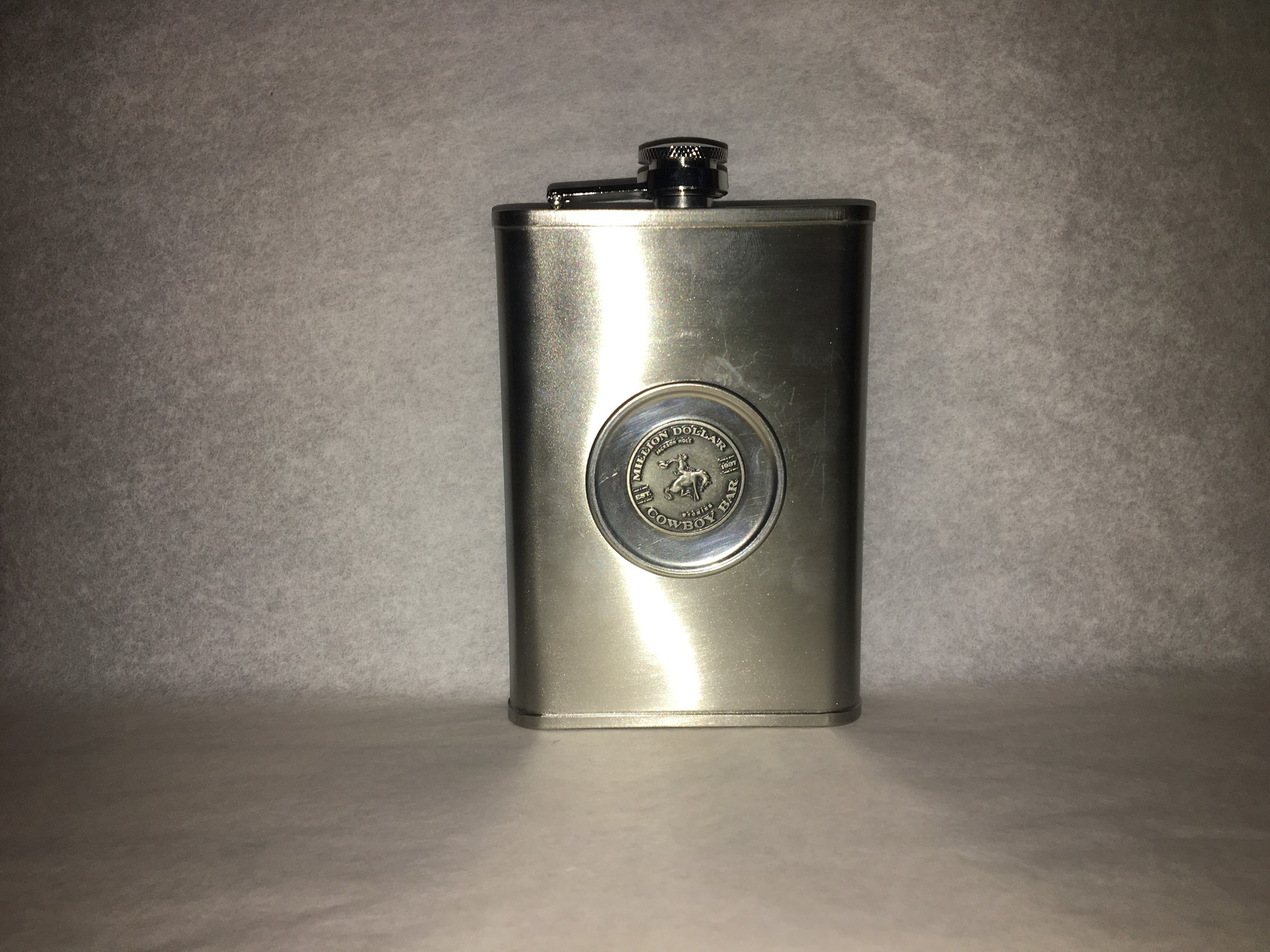 8 oz Flask with Collapsible Shot Glass