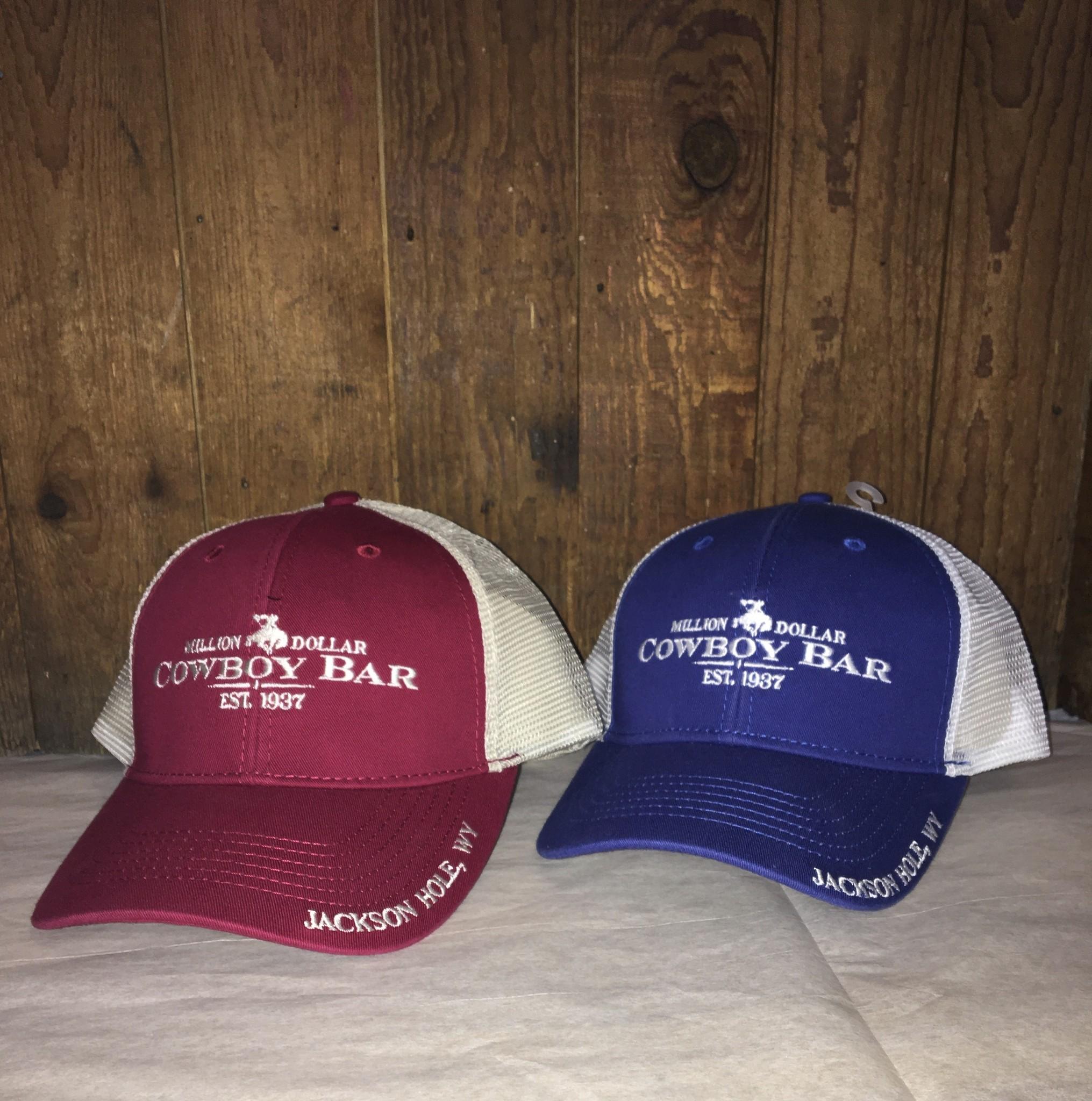 Mesh Snap Back Hat - Brim Logo