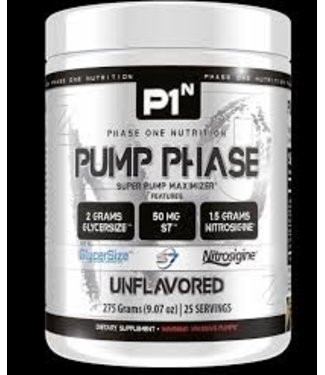 Phase One Nutrition Phase One Nutrition Pump Phase Unflavored