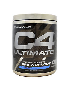 Cellucor C4 Ultimate 40 Serving  Blue Rasperry