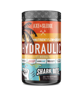 Axe and Sledge Axe and Sledge Supplements Hydraulic Non-Stim/Nitric Oxide Pre Workout