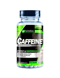 Nutrakey Caffeine 100 Capsules