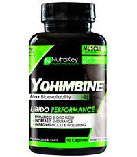 Nutrakey Nutrakey Yohimbine HCL 90 Capsules
