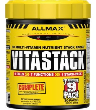 AllMax Nutrition Vitastack Mult-Vitamin Stack Packs