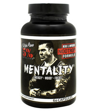 5% Nutrition Mentality 60 Capsules