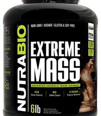 NutraBio NutraBio Extreme Mass 6lb