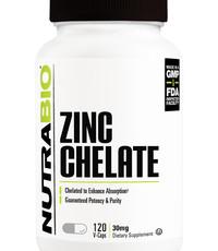 NutraBio Zinc Chelate 120 Caps