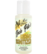 Uncle Petes Hand Sanitizer 2oz