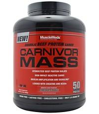 MuscleMeds Carnivor Mass 6lb Chocolate Fudge