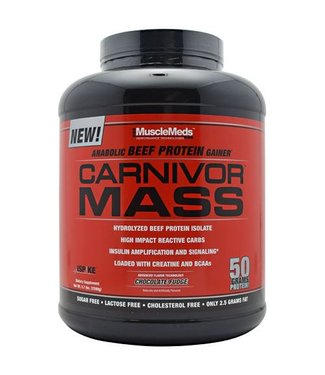 MuscleMeds Carnivor Mass 6lb Chocolate Fudge