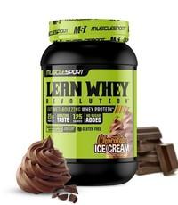 Muscle Sport Lean Whey 2lb Chocolate Ice Cream