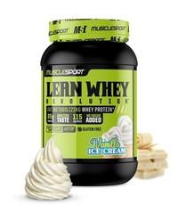 Muscle Sport Lean Whey 2lb Vanilla Ice Cream