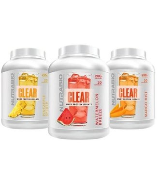NutraBio NutraBio Clear Isolate 20 Servings