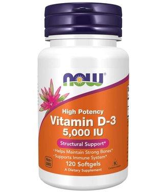 NOW Foods NOW FOODS Vitamin D-3 5000 IU 120ct