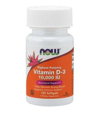 NOW Foods NOW FOODS Vitamin D-3 10,000 IU 120 Softgels