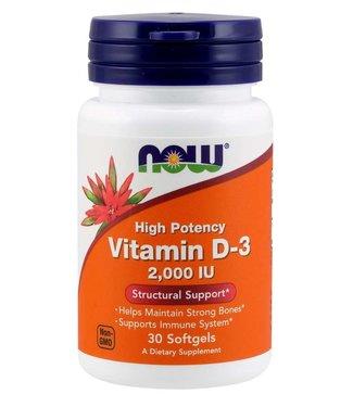 NOW Foods NOW FOODS Vitamin D-3 2000 IU 120 Softgels