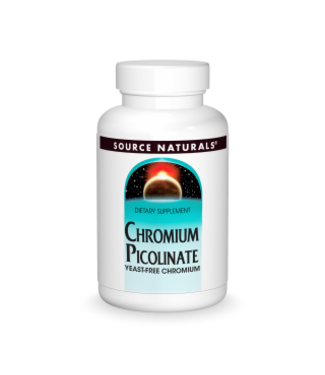 Source Naturals Chromium Picolinate 200mcg 120ct