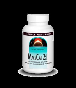 Source Naturals MAG/CAL 2:1 90ct
