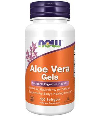NOW Foods Aloe Vera Gels 100 Softgels