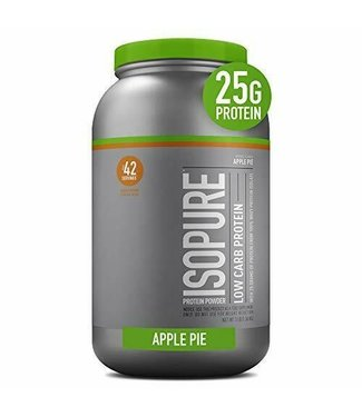 Natures Best ISOPURE Low Carb Protein Powder  3lb Apple Pie