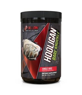 Apollon Nutrition Hooligan Bare Knuckle - Premium Non-Stimulant Pre-Workout Powerhouse Jungle Juice