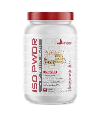 Metabolic Nutrition Iso Powder 1.5lb