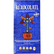 Chocolate con leche cacahuate y sal de mar 50%  Cacao Ki  Xocolatl  80g