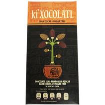 Chocolate Semi-amargo Sin Azúcar 56% de Cacao Ki Xocolatl 80 gr.
