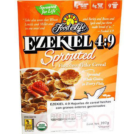 Cereal Ezekiel 4:9 Con Granos Enteros Germinados, FFL 397 gr.