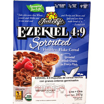 Cereal Ezekiel 4:9 En Hojuelas con Chía y Linaza FFL 397 gr.