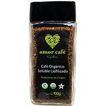 Amor Café Soluble Organico 100gr