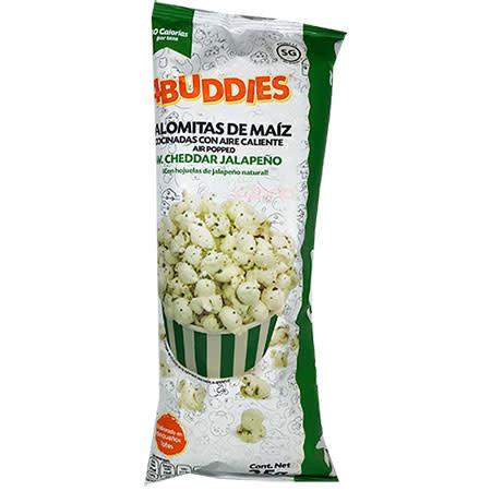 Palomitas Cheddar Jalapeño 4 Buddies 25gr