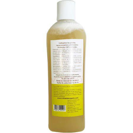 Shampoo Regenerador Herbal para Cabello Rubio Vihanta 400 ml.