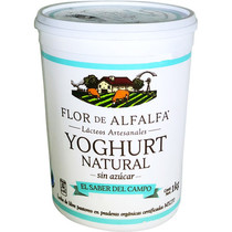 Yogurt Natural Flor de Alfalfa 1 L.