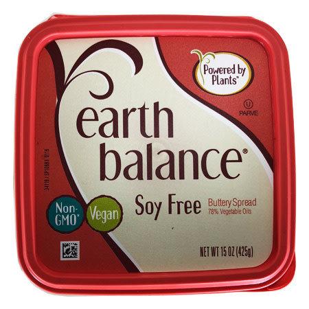 Mantequilla Vegana Sin Soya Earth Balance 425 gr.