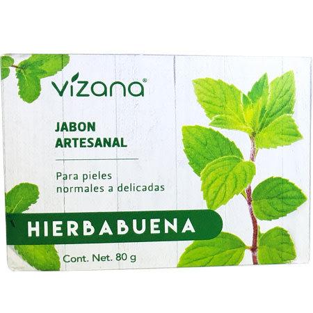 Jabón Natural Hierbabuena Vizana 80 gr.