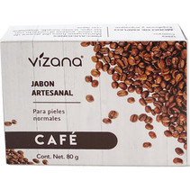 Jabón Natural de Café Vizana 80 gr.